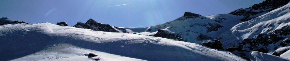 Header Skiing landscape