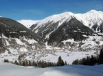 Skiing in Davos-Klosters, Switzerland