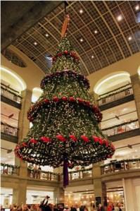 Christmas tree, NK, Stockholm