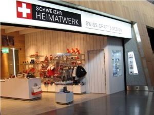 Schweitzer Heimatwerk, Zurich Airport
