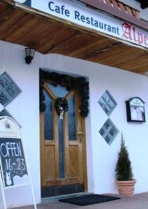 Alpenrose restaurant in Pettneu St. Anton