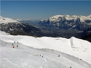 Lenzerheide ski resort, Switzerland