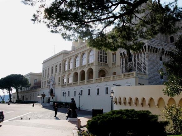 The palace, Monaco