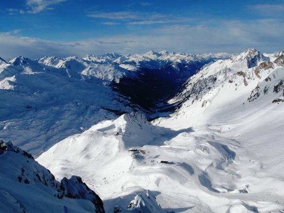 Austrian Alps St. Anton, Austria