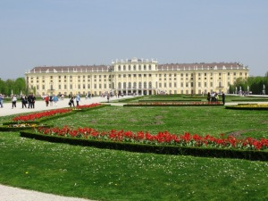 Schoenbrunn palace, Vienna Austria