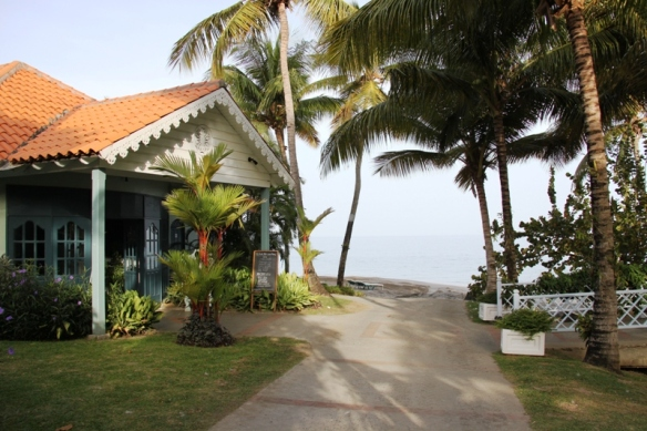 Clubhouse entrance, TheBodyHoliday, St. Lucia