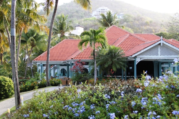 The clubhouse, TheBodyHoliday, St. Lucia