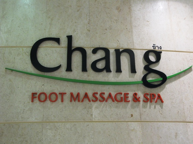 Chang Foot Massage & Spa, Bangkok Airport