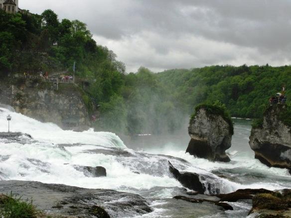 Rhine Falls, Switzerland - a great rainy day destination