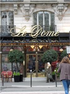 Lunch at Le Dome, Paris