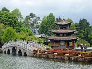 Lijijang Pagoda at Black Dragon Pool