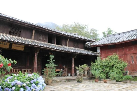 Visiting Yu Hu Village - Dr. Joseph Rock home