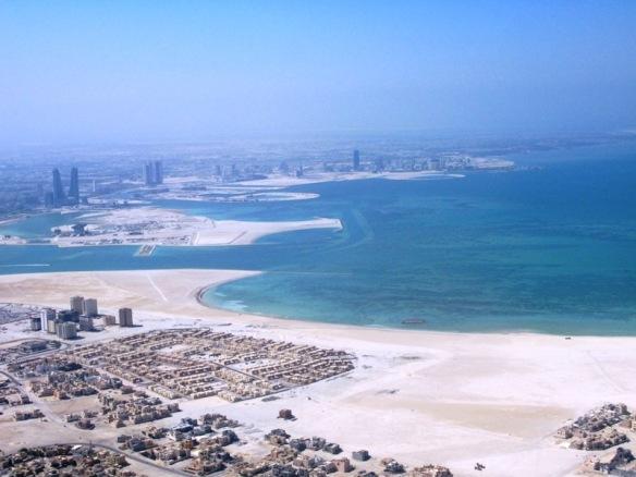 Bahrain sky line
