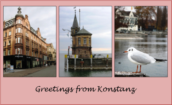 A day trip from Zuricj to Konstanz