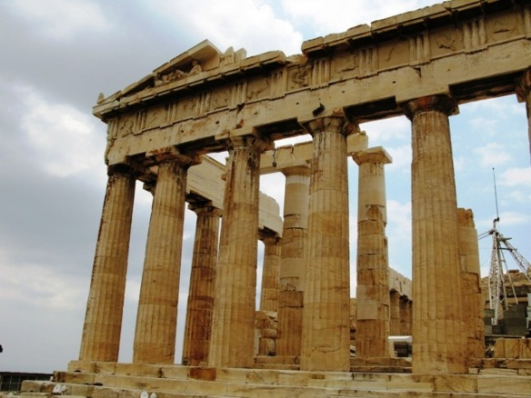Discovering Acropolis, in Athens, Greece
