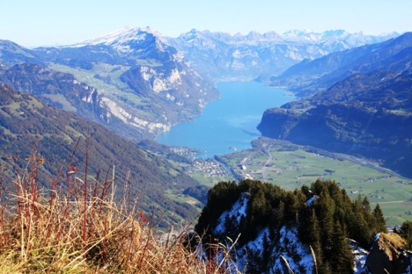The best hiking view over Walensee