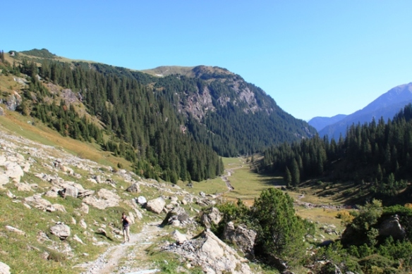 Murgrese - trekking the Alps