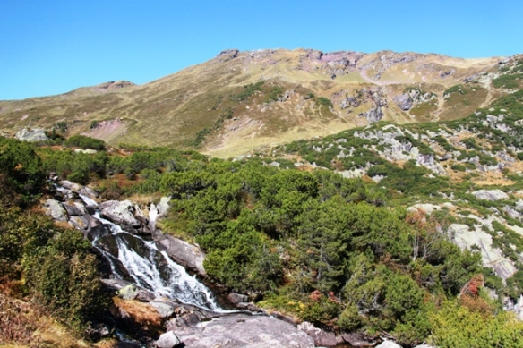 Murgsee hike - waterfalls hiking