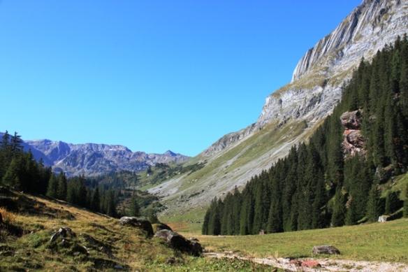 Murgsee hiking travel