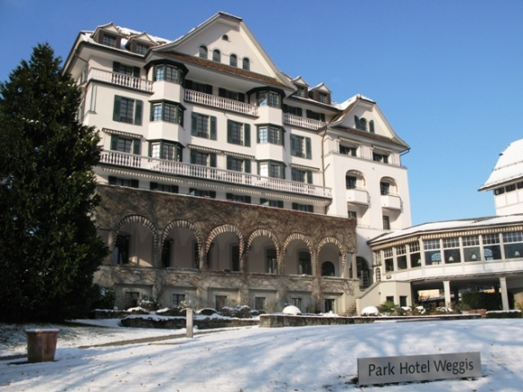 Easter in Switzerland - Park Hotel Weggis