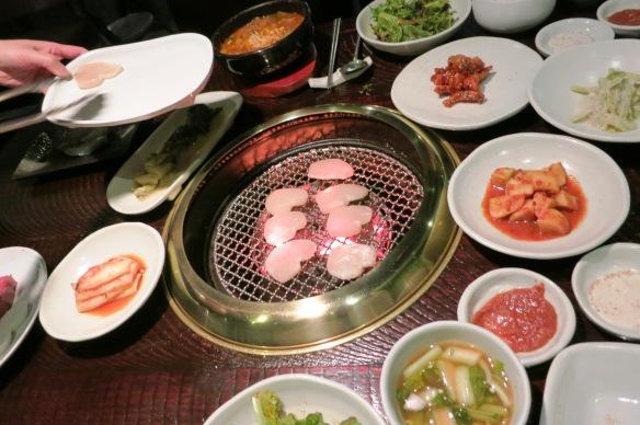 Korean Barbeque in Seoul