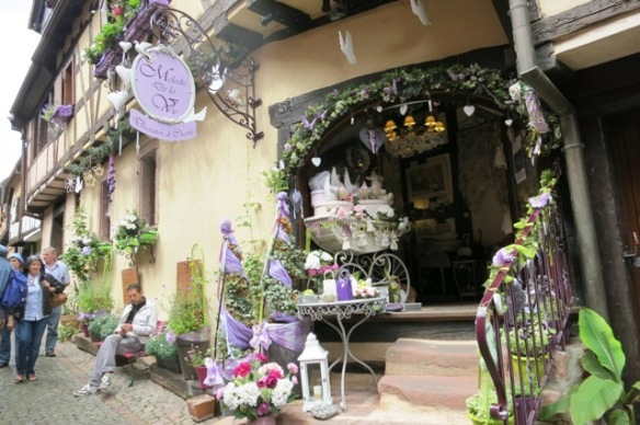 Little interior shop in Riquewihr, France