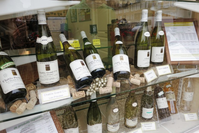 Wine shopping in Burgundy