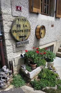 Vosne-Romanee little wine shop