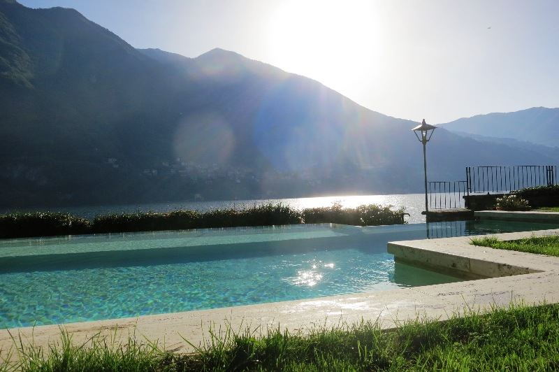 Pool at Villa Vittoria Lake Como